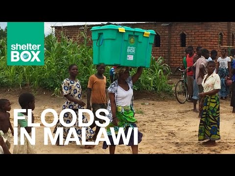 ShelterBox: The Difficulties of Working in a Malawi Flood Zone