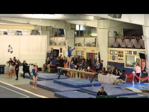 Emily Carey - Northeast Gymnastics Academy - Balance Beam - 2016 Parkettes Invitational