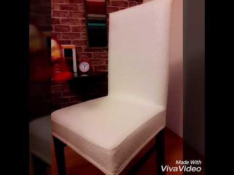 1 Kalite Likrali Esnek Suni Deri Sandalye Kilifi