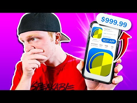 BUYING THE WORLDS MOST EXPENSIVE APPS...