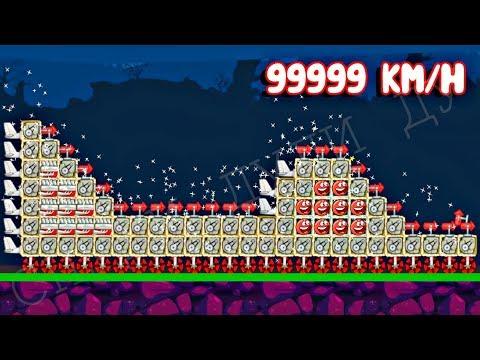 99999 КРАСНЫХ ШАРИКОВ в BAD PIGGIES - в игре Красный Шар и его Машинка Строим с Спуди - Red Ball 4