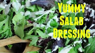 Great Vegan Recipes(7): The Tahini Salad Dressing And The Vegan Italian Pasta