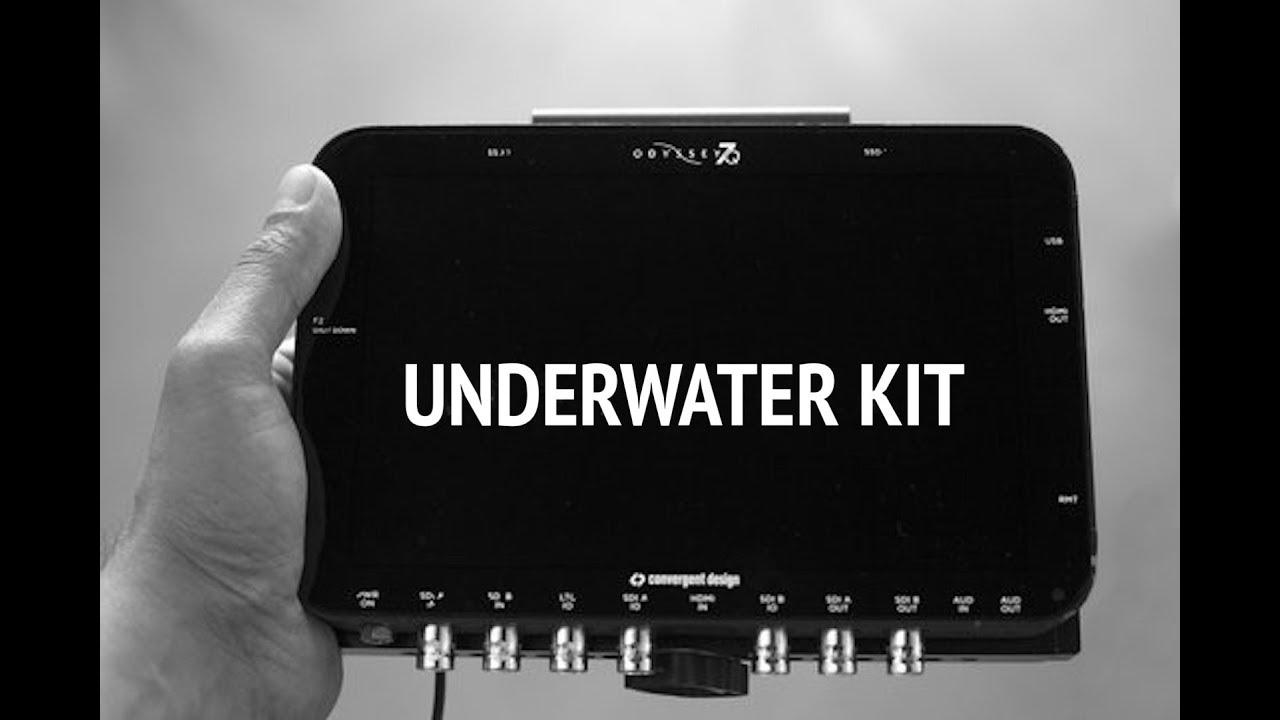 Odyssey Q7+ для съемки под водой   Odyssey Q7+ underwater