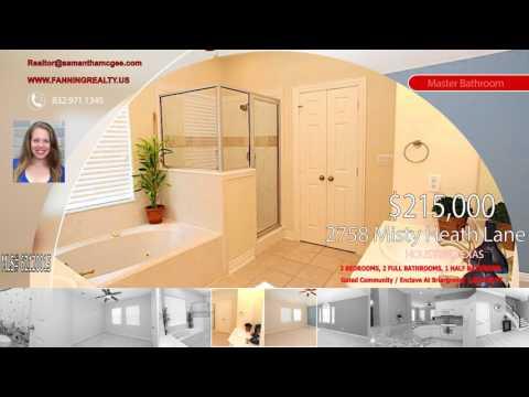 Property For Sale: 2758 Misty Heath Lane, Houston, TX