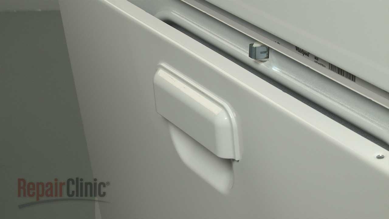 Whirlpool Electric Dryer Door Handle Replacement #W10095180 & Whirlpool Electric Dryer Door Handle Replacement #W10095180 - YouTube Pezcame.Com