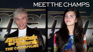 Singers Jack Vidgen and Angelina Jordan Are Ready To WIN! - America's Got Talent: The Champions