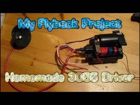 TUTORIAL: My Flyback Project - How to SAFELY extract a Flyback transformer  from a CRT