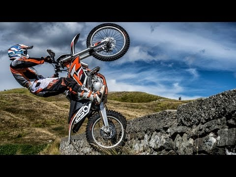 First-Test   KTM Freeride 250R & Freeride 350   Offroad-Action + Engl. Subs