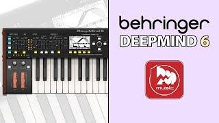 BEHRINGER DEEPMIND 6 Полифонический аналоговый синтезатор