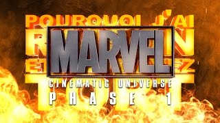 PJREVAT - Marvel Cinematic Universe : Phase 1