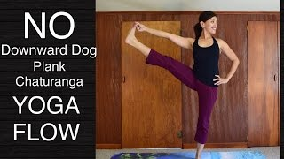 Video 45 Minute Wrist Free Hands Free Total Body Yoga Flow Class - Strength Flexibility Balance download MP3, 3GP, MP4, WEBM, AVI, FLV Maret 2018