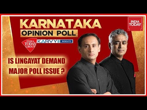 Karnataka Opinion Polls | Is Lingayat Demand A Major Issue For Assembly Polls ? | Exclusive