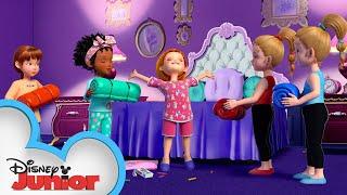Nancy's Slumber Party 😴 | Fancy Nancy | Disney Junior