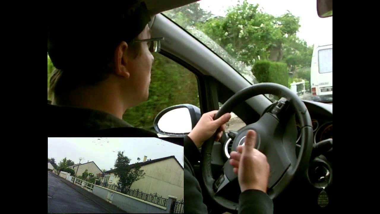 savoir faire un creneau gauche permis de conduire tape 3 le on 4 youtube. Black Bedroom Furniture Sets. Home Design Ideas