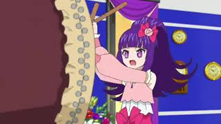 Idol Time Pripara 43 - Shuuka tries to keep Galala awake