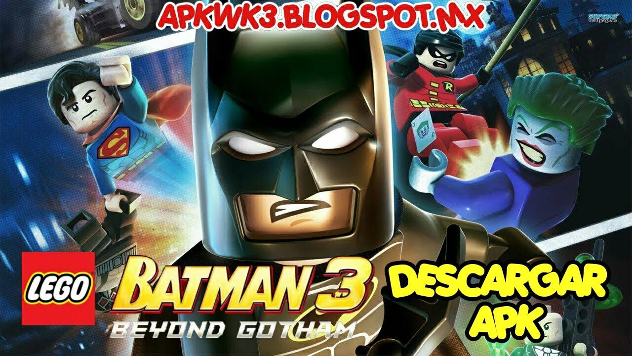 LEGO Batman: Beyond Gotham android - apk + datos sd - YouTube