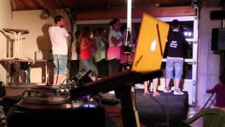 Soirée d'été au Yelloh Village LA CHENAIE à Pornic