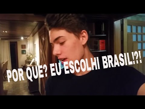 POR QUE EU ESCOLHI BRASIL!?!? (Diário De Intercâmbio #7)