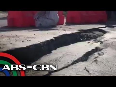 DPWH, nag-ikot sa Pampanga kasunod ng lindol - April 23, 2019 | News Patrol