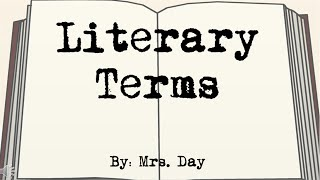 Literary Terms Song