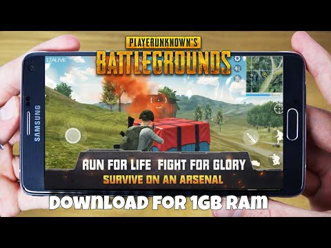 Download Now PUBG Mobile For 1GB Ram Phone || Play On Low End Devices