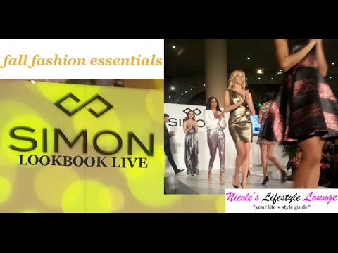 Simon LookBook Live VIP Preview at Roosevelt Field Mall