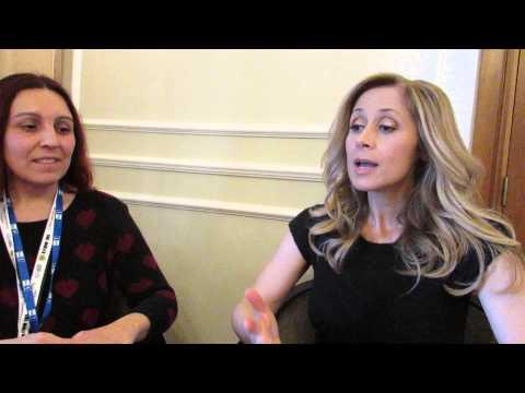 Video Intervista a Lara Fabian @ Sanremo 2015