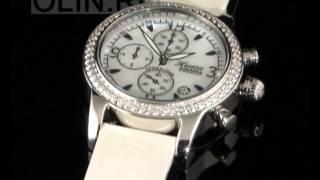 Серебряные наручные часы с фианитами(Серебряные наручные часы из коллекции