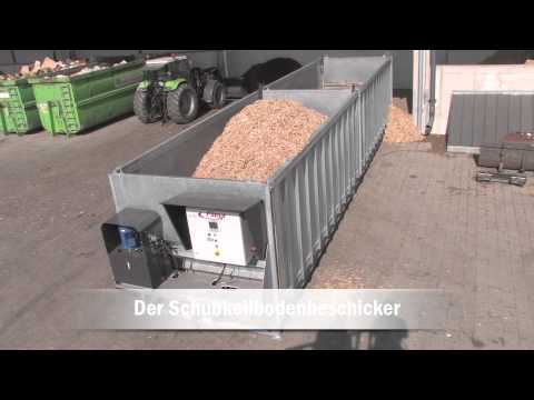 Prächtig Trocknungssystem Hackschnitzel - Fliegl Ökodry 2014 - YouTube #CA_34