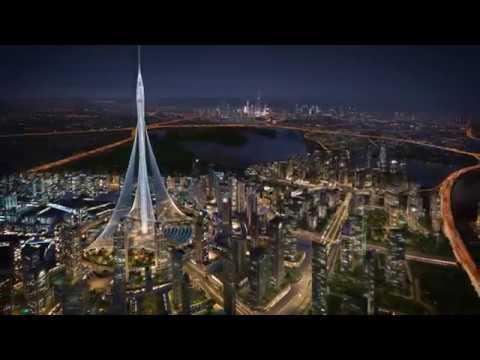 Dubai Creek Harbour - Time Lapse CGI Flythrough