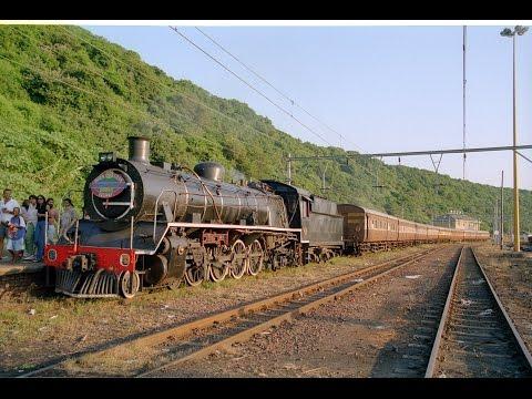 South African Steam: 19D 2637 Umgeni Harbour Wanderer 1998