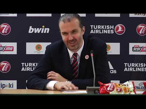 Euroleague Post - Game Press Conference: Panathinaikos OPAP Athens vs AX Armani Exc. Olimpia Milan