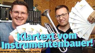 Klartext vom Instrumentenbauer | Tarek Porr sagt dir alles rund um die Trompete | Tipps vom Profi