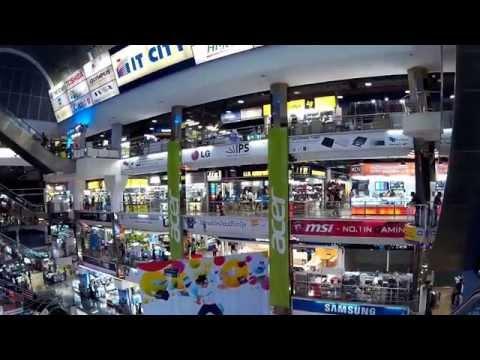 Pantip Plaza/ Electronic Shopping Mall/ Bangkok / Thailand/ 2015 FullHD