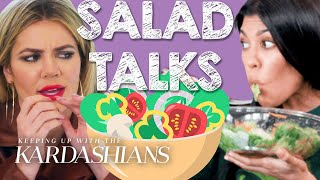 Best Kardashian Salad Talks | KUWTK | E!