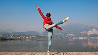 راقصة باليه سويسرية تدافع عن الإسلام , فيديو رائع يجب مشاهدته .