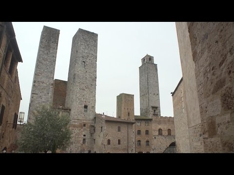 San Gimignano, Tuscany, Italy travel movie
