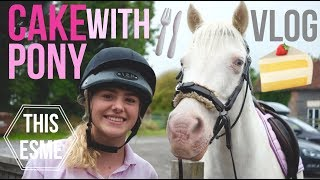 Vlog | Cake with the Pony | This Esme