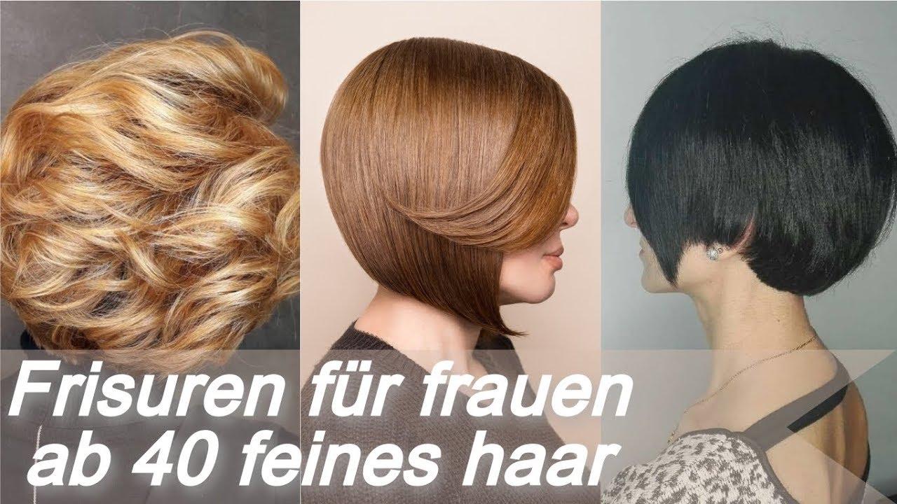 Unsere Top 20 Frisuren Für Frauen Ab 40 Feines Haar