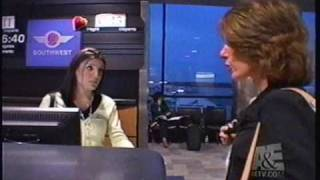Airline TV Show Early Passenger Demands Earlier Flight From Southwest Airlines Gina Terrano