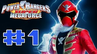 Power Rangers Super Megaforce 3DS - Walkthrough Part 1 Stage 1 [HD]