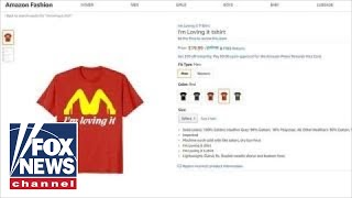 Mom goes viral after son wears McDonald's parody T-shirt