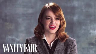 Emma Stone Talks Ryan Gosling