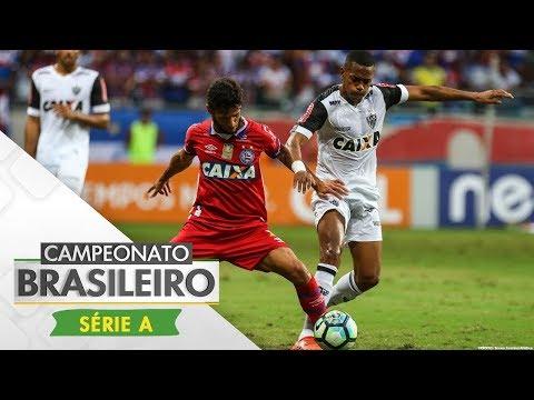 Melhores Momentos - Bahia 2 x 2 Atlético-MG - Campeonato Brasileiro (12/11/2017)