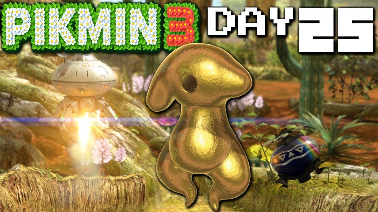 Pikmin 3 Mysterious Monster Final Boss Day 25 Nintendo Wii U