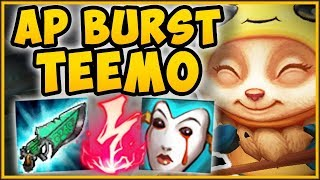 WTF! ONE BURST AP TEEMO COMBO DOES HOW MUCH DMG?? TEEMO SEASON 9 TOP GAMEPLAY! - League of Legends