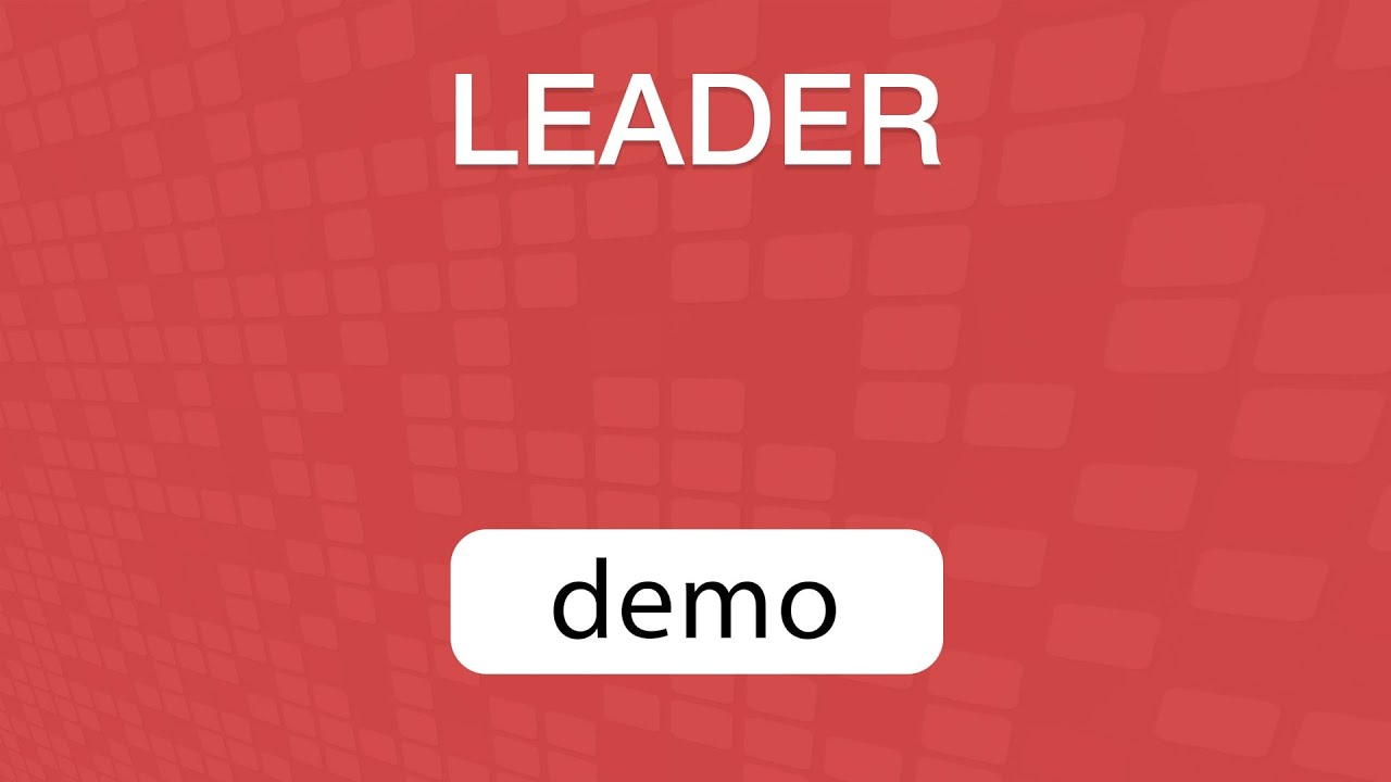 GoVenture LEADER Demo