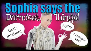 Sophia the AI Robot Says The Darndest Things! HAS THE SINGULARITY HAPPENED? Artificial Intelligence