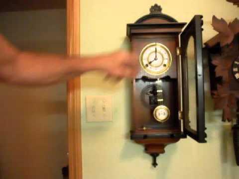 korean made wall clock youtube. Black Bedroom Furniture Sets. Home Design Ideas