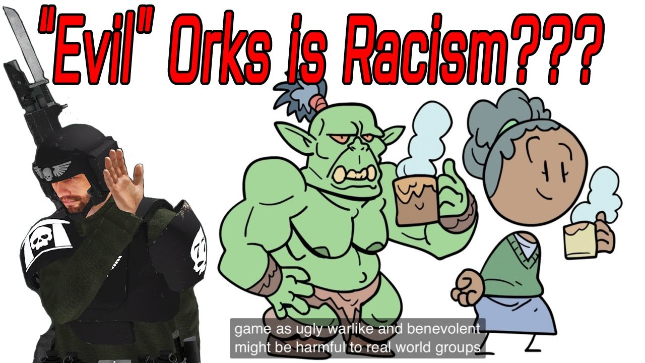 Orcs, Extra Credits, and the IMPERIAL GUARD OF HUMANITY